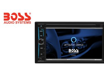 BOSS Audio Systems is First to Announce Amazon Alexa-Enabled Aftermarket In-Dash Multimedia Receiver