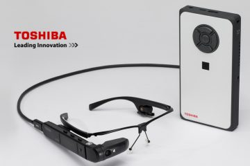 Toshiba Unveils First Windows-based Smart Glasses Solution