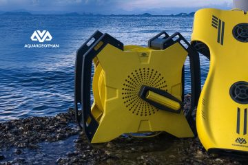 Underwater Drone Startup Aquarobotman Launches An Exploration Robot