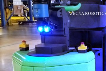 Vecna Robotics Partners with RightHand Robotics to Streamline Intralogistics and Material Handling Process