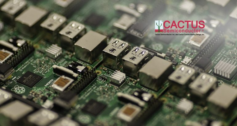 Cactus Semiconductor to Present at Sensors Expo & Conference