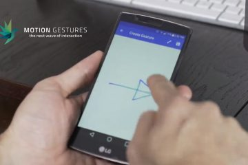 Motion Gestures launches breakthrough gesture recognition platform and closes $1.65 million USD in seed financing