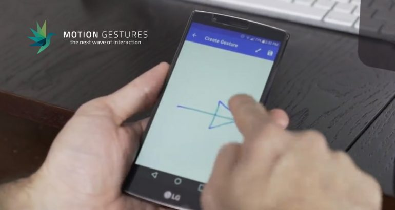Motion Gestures Launches Breakthrough Gesture Recognition Platform