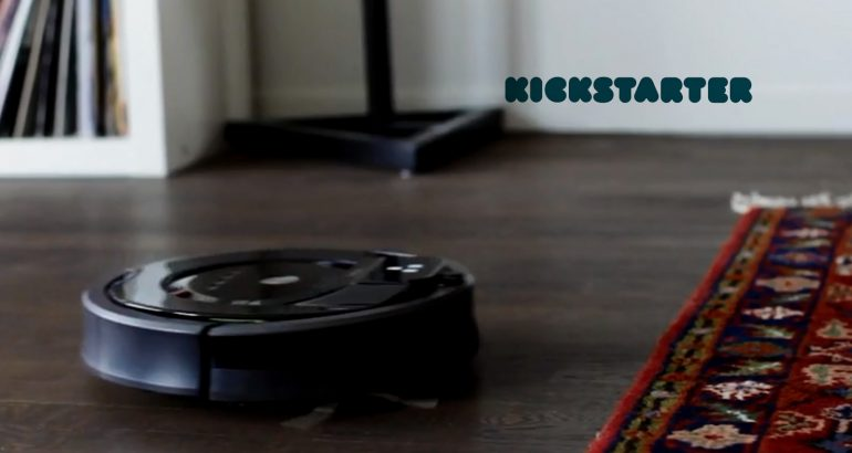 Kickstarter Project Revolutionizes Robot Vacuum Cleaners