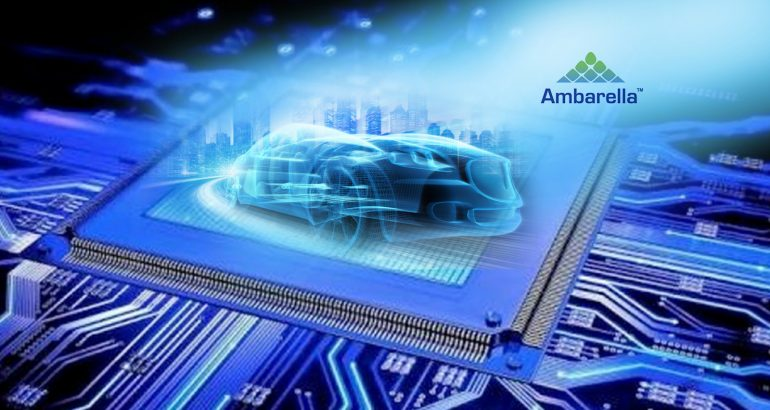 Ambarella and Smart Eye Partner to Deliver Next Generation AI-based Driver Monitoring