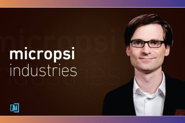 AiThority Interview Series with Ronnie Vuine, CEO and Co-Founder, Micropsi Industries