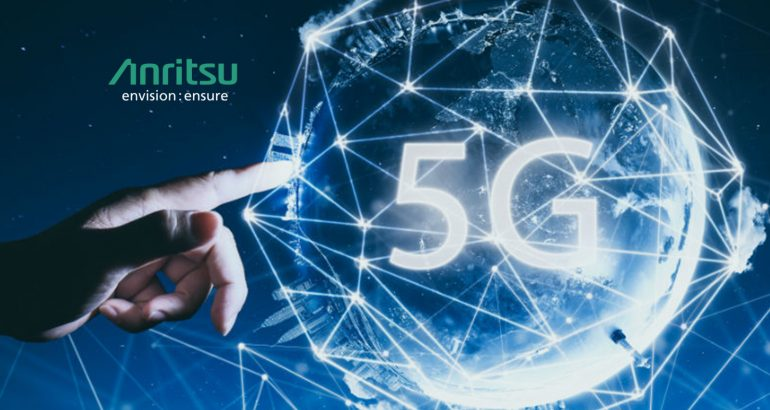 Anritsu and Samsung Verify Industry's First 5G NR Protocol Conformance Test in Sub-6 GHZ Frequency Range