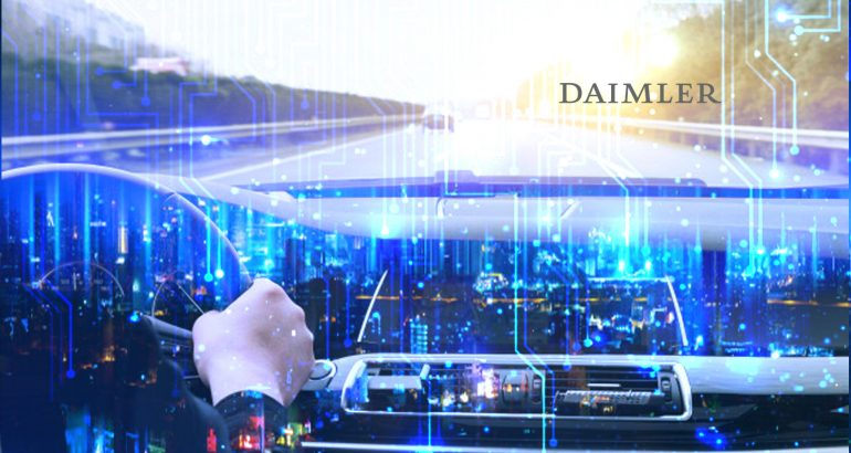Daimler AG and BMW Group to Jointly Develop Next-Generation Technologies for Automated Driving