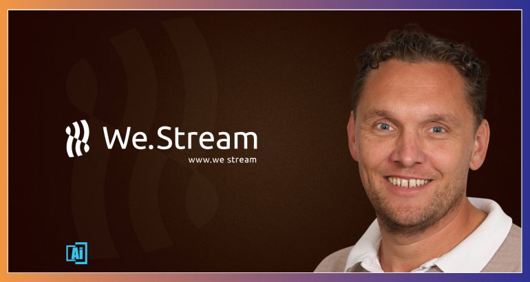 AiThority Interview Series with Jurgen ter Hoeve, CEO at We.Stream