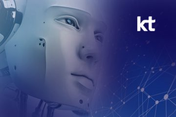 KT and Dal.Komm Showcase AI Robot Cafe 'b;eat2E' at MWC