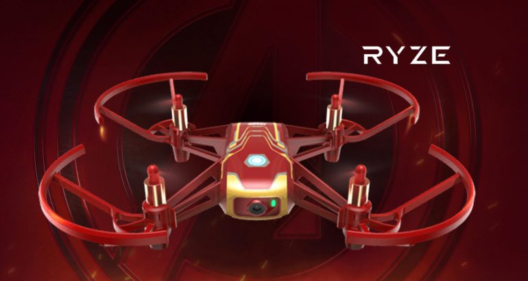 Fly like a Hero with the Brand New Tello Iron Man Edition