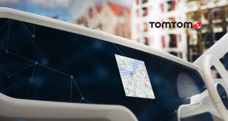 TomTom Powers MG India's New Connected Car