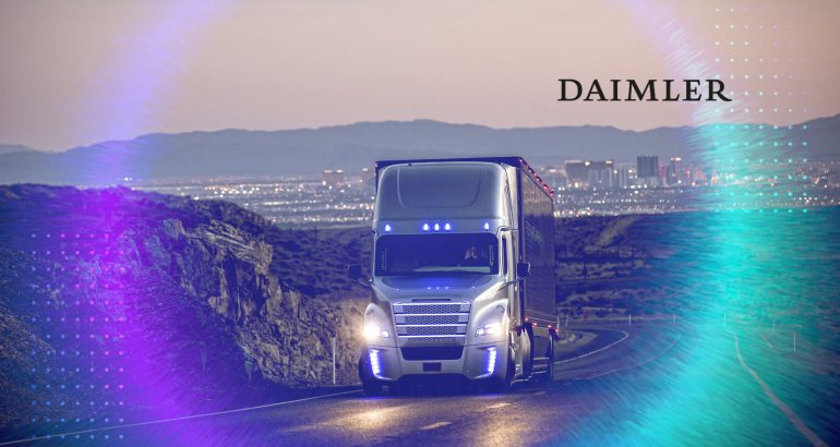 Daimler Trucks Establishes Global Organization for Highly Automated Driving