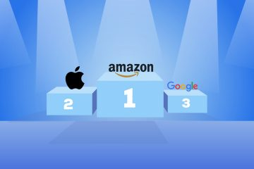 Amazon Emerges as a Winner Ahead of Behemoths Apple and Google