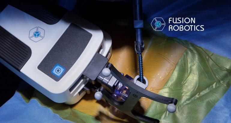 Fusion Robotics Closes Financing to Advance Spinal Robotics Platforms