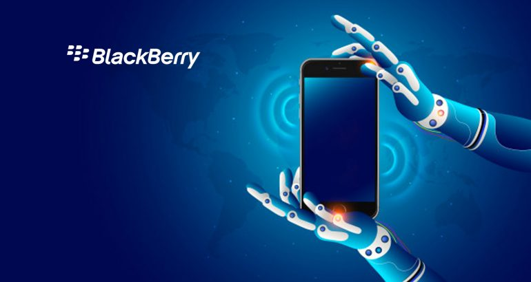 Government of Canada Cites BlackBerry Standard for Trusted Technology