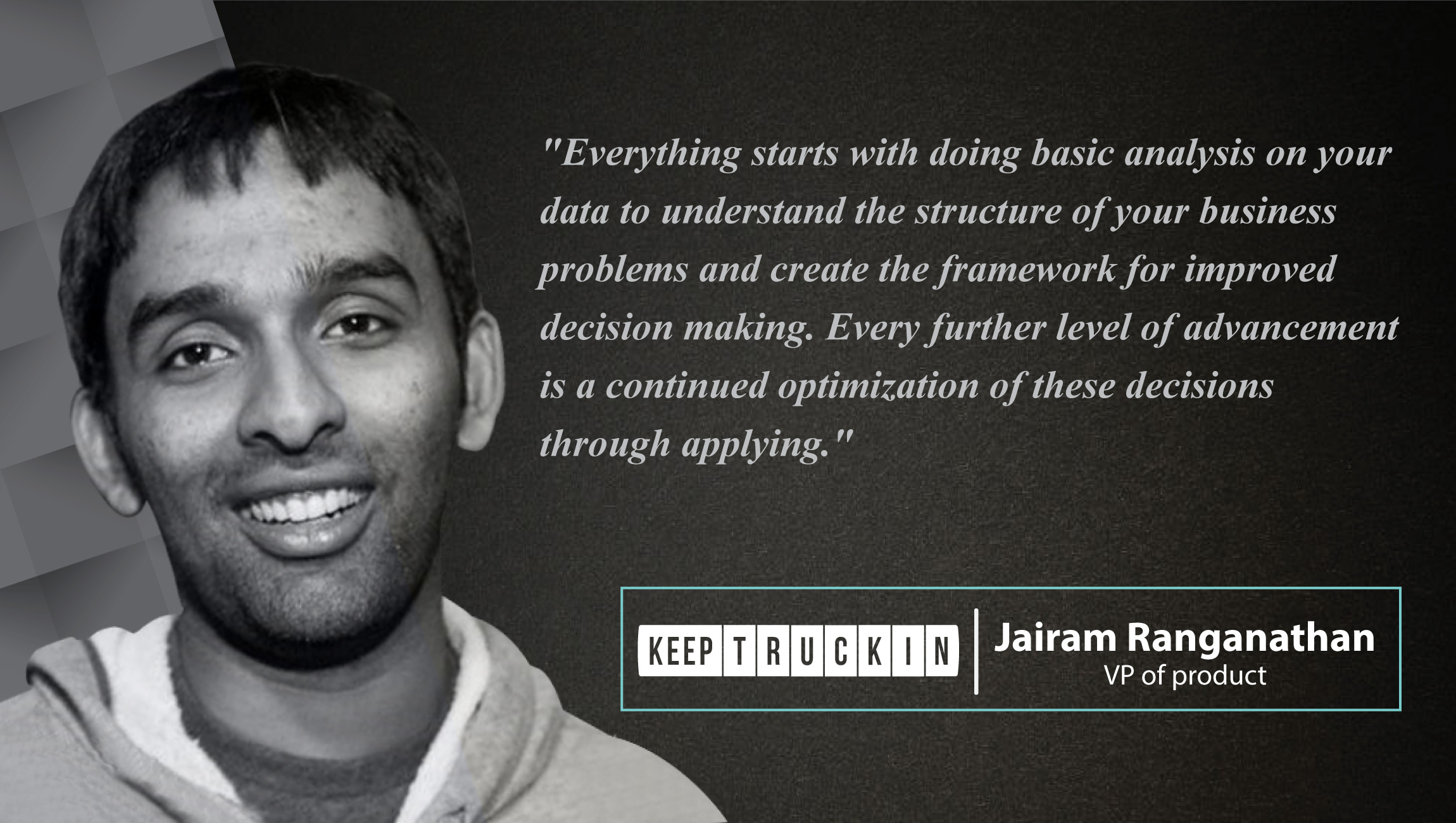 AiThority Interview With Jairam Ranganathan, VP of product at KeepTruckin