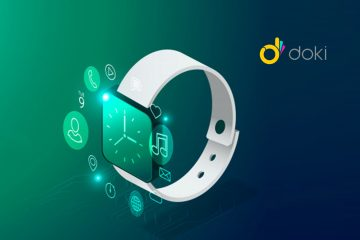 DokiPal World's First 4G LTE Smartwatch with Integrated AI Voice Assistant for Kids