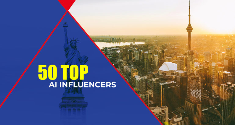 50 Most Popular AI-Influencers of North America