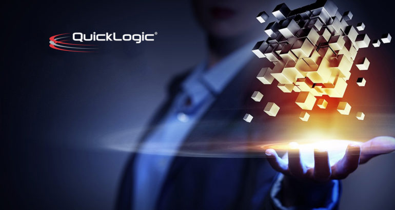 QuickLogic Partners with Nuance Communications to Deliver Robust Voice Command Technology