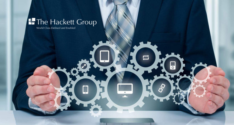 The Hackett Group: Smart Automation Can Enable Typical HR Orgs To Improve Effectiveness & Customer Experience While Cutting Costs By 17%, Achieving Efficiency Close to World-Class Levels