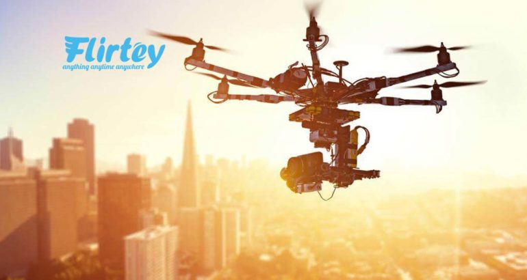 Flirtey Unveils the Future of Drone Delivery with Never-Before-Seen Video and Images
