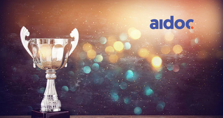 Aidoc's AI Wins 'Best New Radiology Software' in Prestigious Minnies Awards