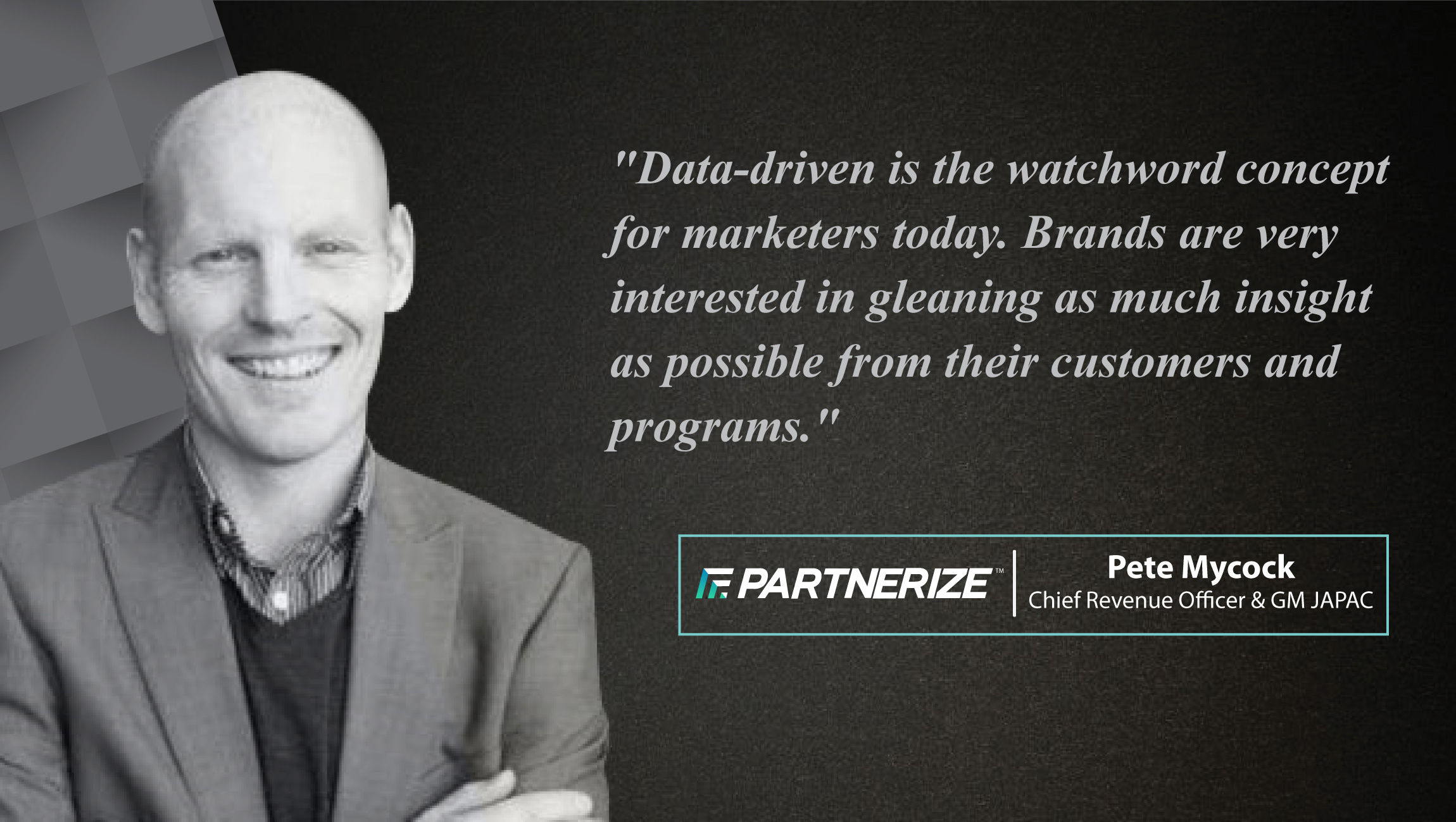 AiThority Interview with Pete Mycock, GM APAC at Partnerize