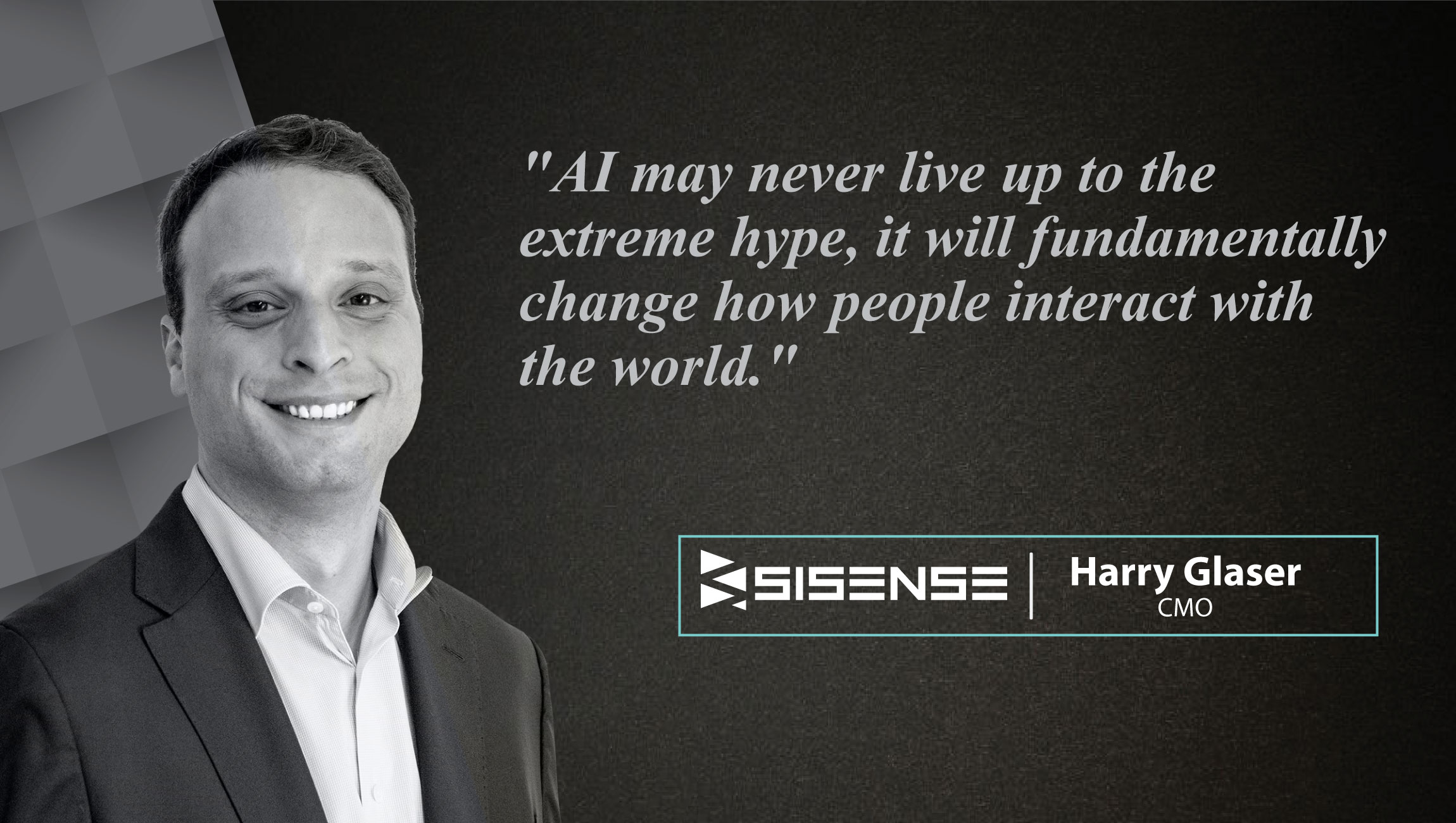 AiThority Interview with Harry Glaser, CMO at Sisense