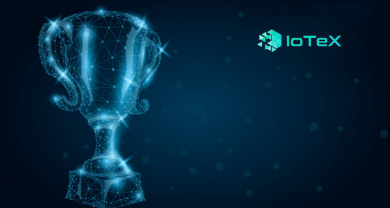 IoTeX Wins CES Innovation Award for Ucam - Private, Blockchain-Powered Security Camera