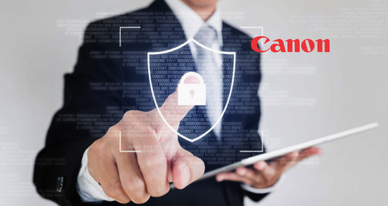 Canon Inc. Recognized as a Leader in the IDC MarketScape for Print and Document Security Solutions Worldwide