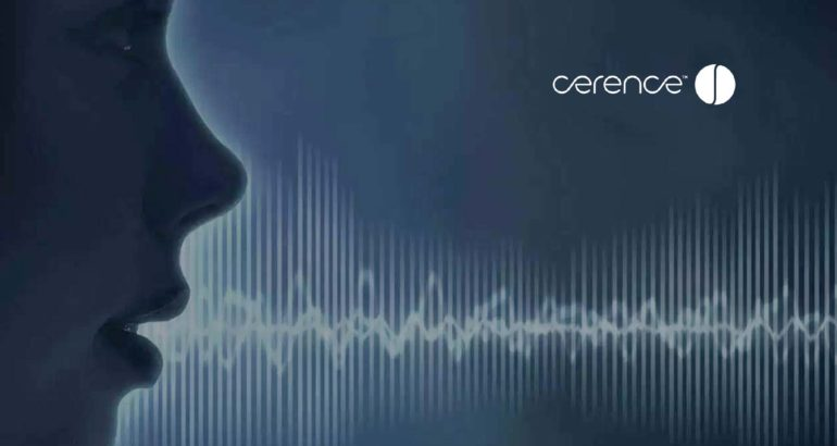 Cerence Introduces My Car, My Voice – New Voice Clone Solution to Personalize the In-Car Voice Assistant