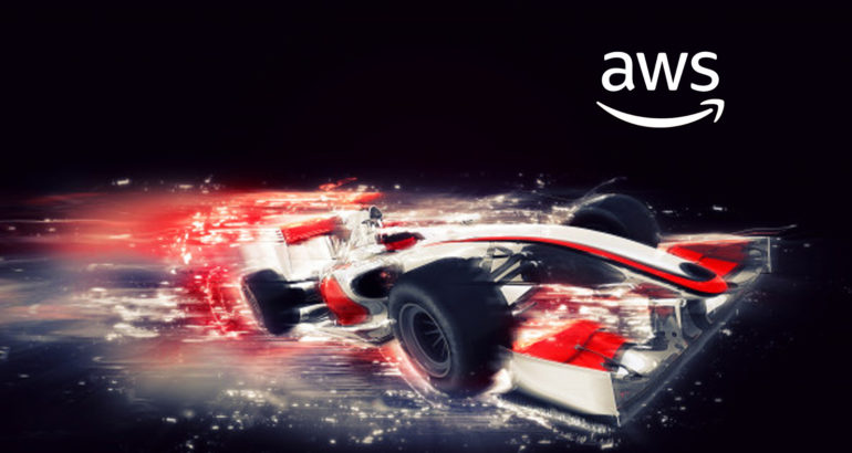 Formula 1 Works with AWS to Develop Next Generation Race Car