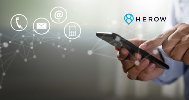 HEROW and Intercom Partner to Integrate Location Intelligence and Deeper User Context Within Intercom's Business Messaging Platform