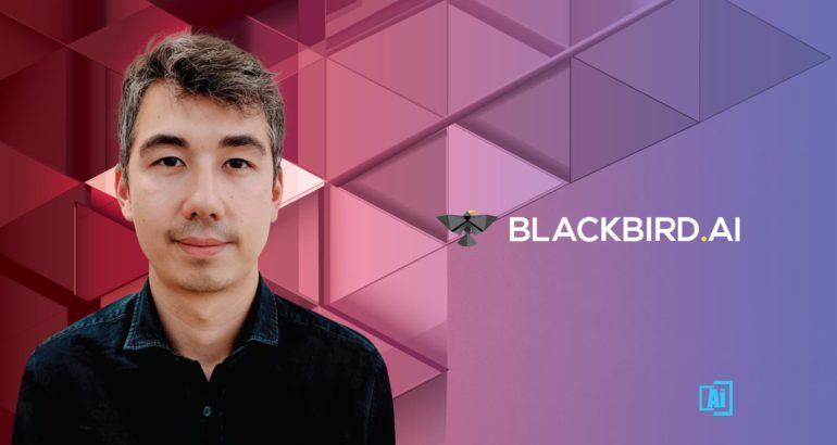 AiThority Interview with Brice Chambraud, Managing Director at Blackbird.AI