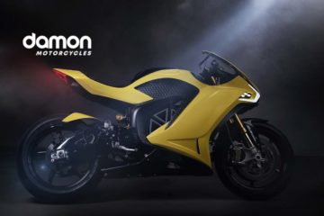 Damon Unveils World's Smartest, Safest, Fully Connected Motorcycle at CES 2020