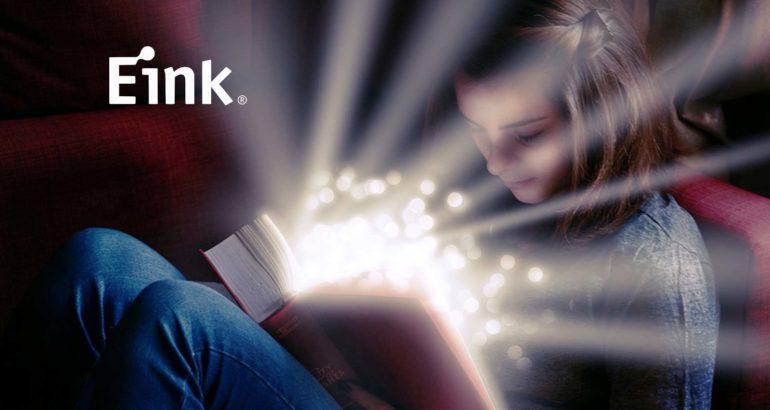 E Ink Announces Color Portfolio for Smart Retail, Education and Consumer Electronics