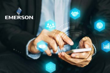 Emerson Named 'Industrial IoT Company of the Year' for Third Year in a Row