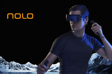 NOLO VR Exhibits the Most Cost-Effective 6DoF Cloud VR Device for Mobile