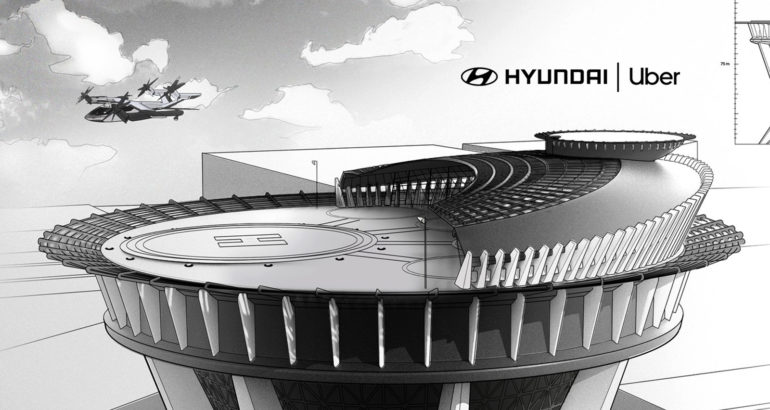 Uber Partners with Hyundai Motor to Launch Uber Air Taxis