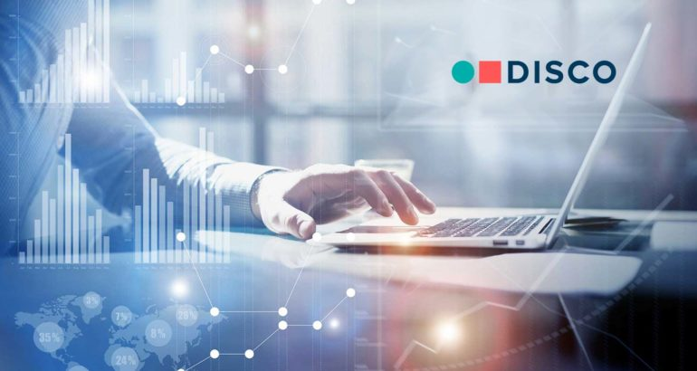DISCO Launches Case Builder; Comprehensive Solution to Empower Legal Professionals to Manage the Entire Litigation Lifecycle