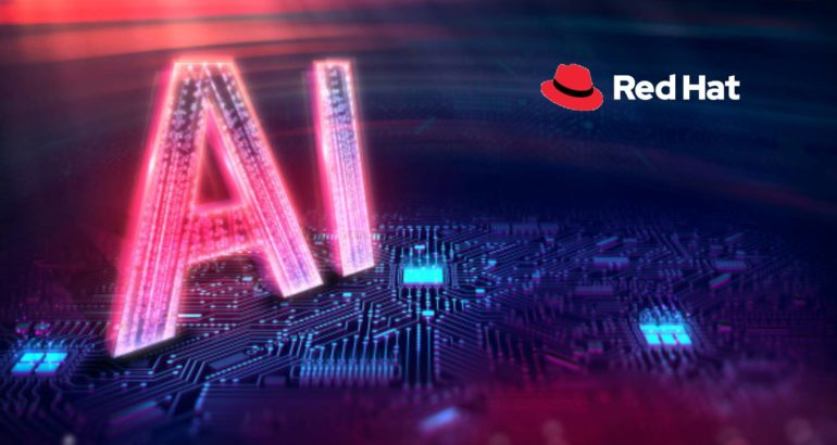 Red Hat Accelerates AI/ML Workflows and Delivery of AI-Powered Intelligent Applications with Red Hat OpenShift