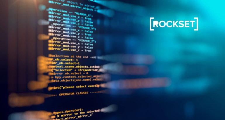 Rockset Empowers Developers with Real-Time SQL for MongoDB